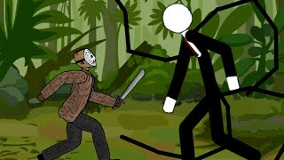 Jason vs slenderman