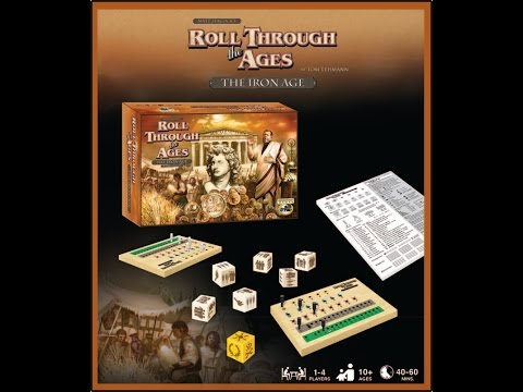 Roll Through The Ages - The Iron Age (Part 2 Sample Game Play)