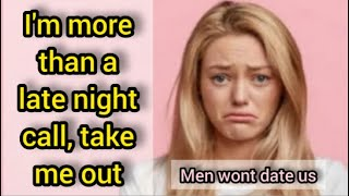 Men Refuse To Date Us Anymore