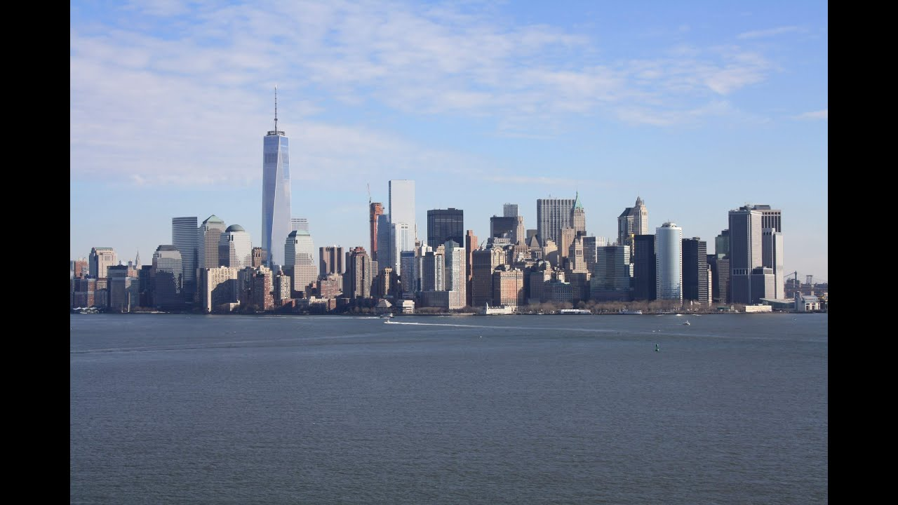 new york january 2015 lower manhattan skyline youtube. Black Bedroom Furniture Sets. Home Design Ideas