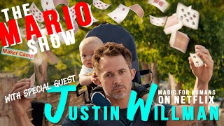 Kids write FUNNY questions to Justin Willman!!