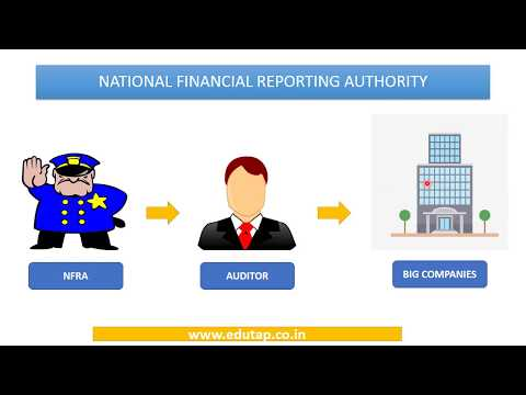 National Financial Reporting Authority (NFRA) explained for RBI and NABARD 2018