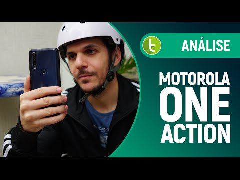 Motorola One Action quer substituir sua GoPro | Análise / Review