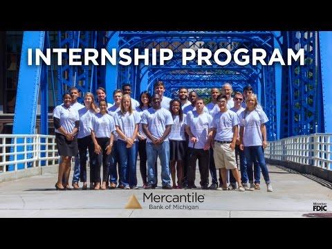 Mercantile Bank Internship Experience 2016