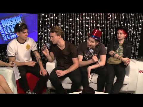 5SOS interview for New Years Rockin Eve' 16