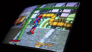 Game | Spider Man The Video Game, Arcade Board Gameplay Sega system 32 Hardware | Spider Man The Video Game, Arcade Board Gameplay Sega system 32 Hardware