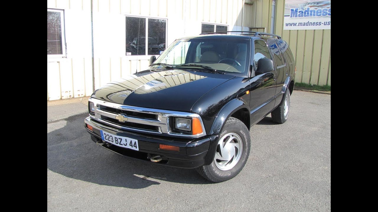 Chevrolet Blazer LT 1999  YouTube