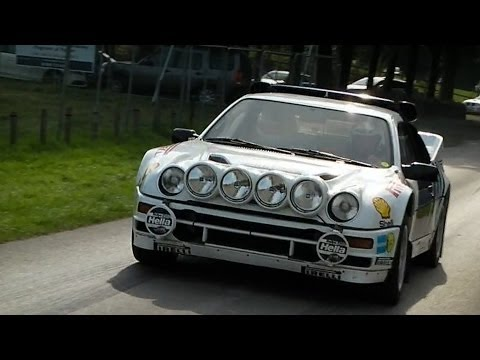 444HP Ford RS200 Group B Legend with Great Sound