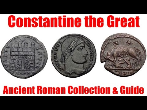 CONSTANTINE the GREAT COINS Ancient Roman Coins Guide & Collection for Sale on eBay by Expert