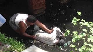 Kumbakonam News January 2019  Youngman Dead Body @ Ullur Cannal with his Cycle
