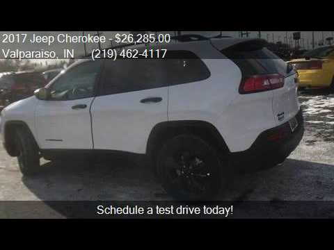 2017 Jeep Cherokee Altitude 4x4 For Sale In Valparaiso In