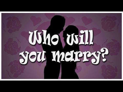 Who will you marry? (Personality test)