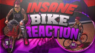 UNLOCKING INSANE BIKE IN MYPARK!!! CRAZY 90 OVERALL REACTION 2K18!! thumbnail
