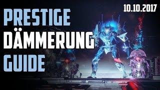 Destiny 2 : Prestige Dämmerung Guide Deutsch | Die verdrehte Säule