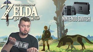 ZELDA BREATH OF THE WILD! - Nintendo Switch Dansk