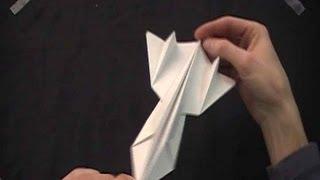 Paper Sr-71 Blackbird.