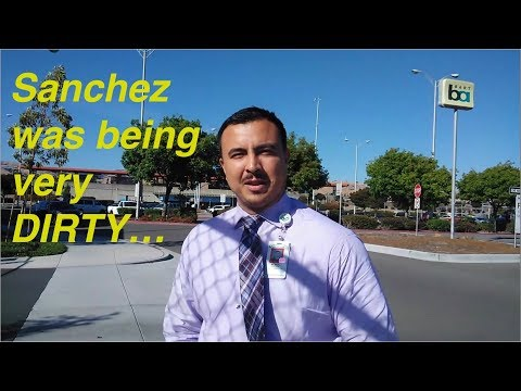 "Meet ""DIRTY SANCHEZ"" ...  BART PD. Fremont, CA. 1st Amendment Audit."