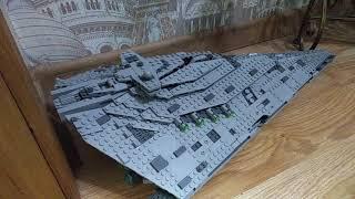 Обзор на LEGO STAR WARS: Звёздный разрушитель 1 родина.