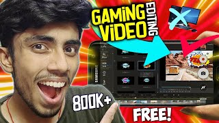 Edit Gaming videos(Pubg)From Android Better than PC|Free in HD(simple in use) HINDI