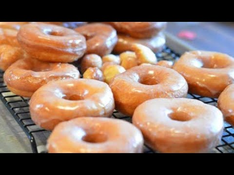 Donuts recipe | How to make donuts at home easy without yeast | Classic Glazed Donuts | Americans