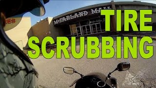 Scrubbing New Motorcycle Tires