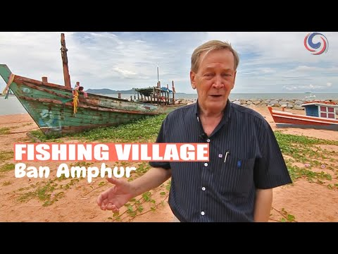 Ban Amphur - An Original  Fishing Village Near Pattaya