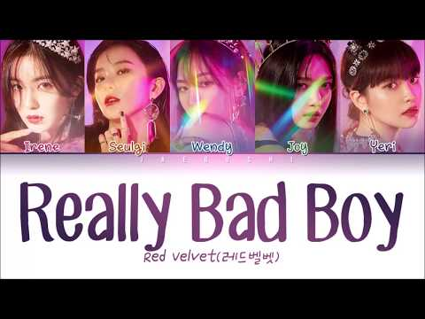 RED VELVET (레드벨벳) - 'RBB (REALLY BAD BOY)' LYRICS (Color Coded Eng/Rom/Han/가사)