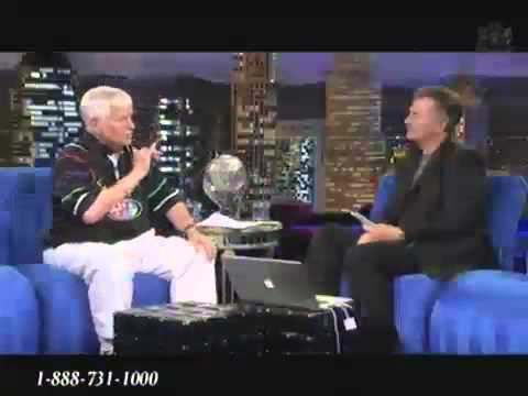 Josh McDowel with Paul Crouch Jr on TBN Jun 30, 2011 Interview of Forgiveness