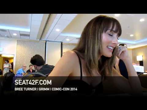 Bree Turner GRIMM Interview Comic Con 2014