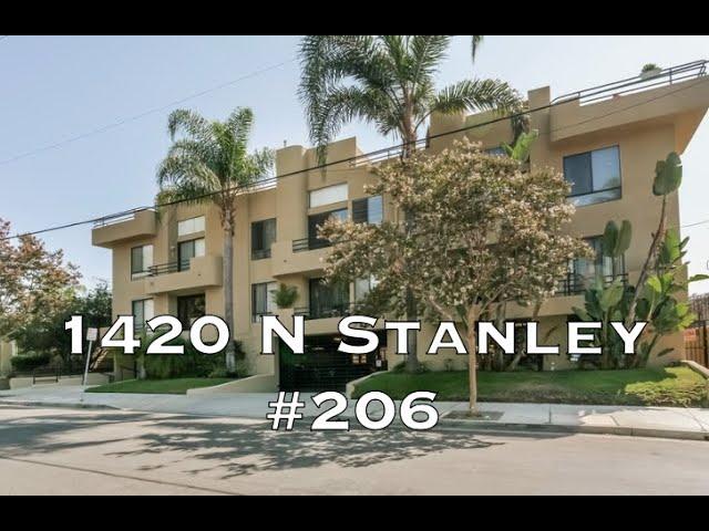 1420 N Stanley Ave #206, Los Angeles CA 90046