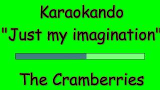 Karaoke Internazionale - Just my imagination - The Cramberries ( Lyrics )