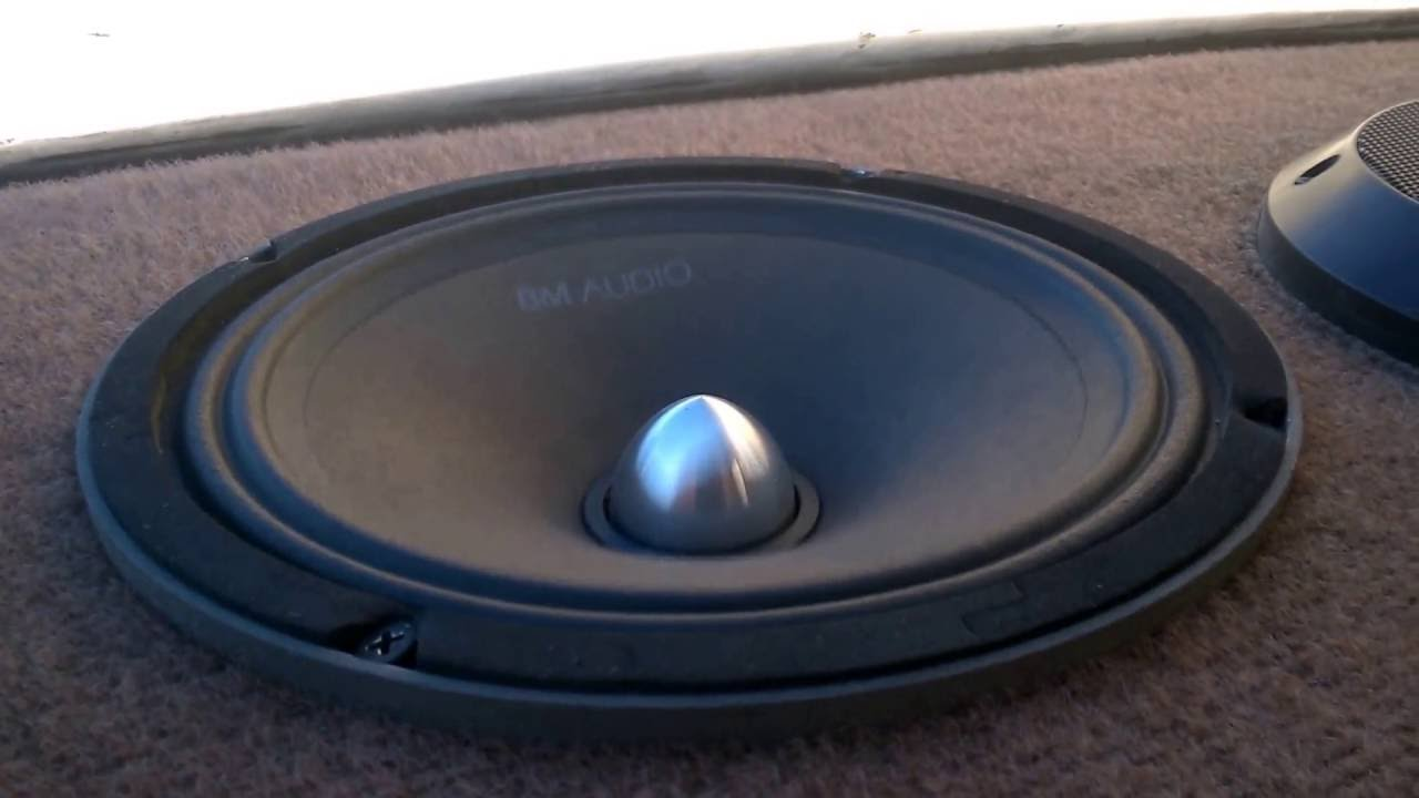 BM Audio 8inch midrange - midbass