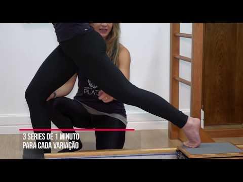 Pilates para definir e fortalecer pernas para a corrida
