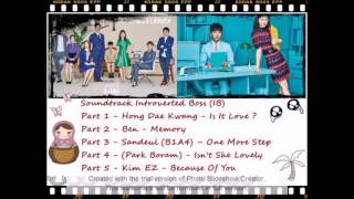 (OST) Soundtrack Drama Korea Introverted Boss  Part 1- 5