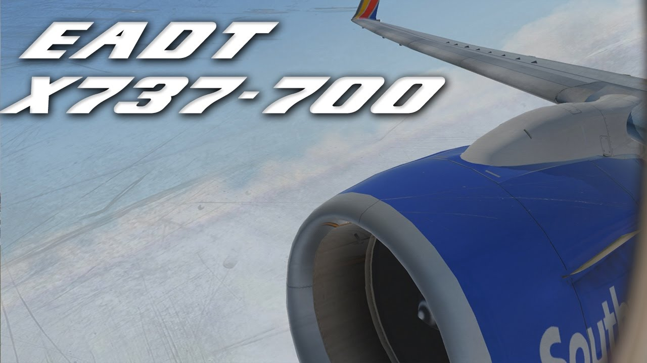 [X-Plane 11] EADT (NEW) x737-700 Houston Departure | AWESOME ENGINE SOUND!
