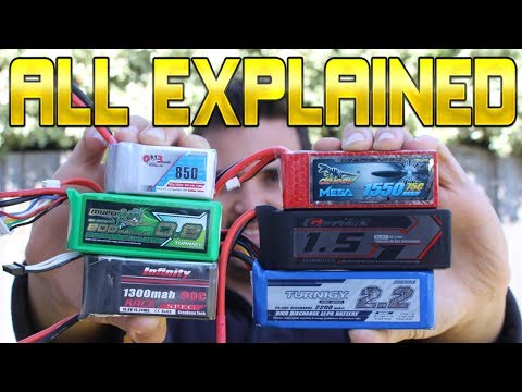 How to Choose the right drone battery! C-Rating? Mah? Cells? All explained.