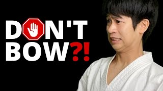 Japanese Karate Sensei Explains DOJO RULES 🥋 (Yusuke Nagano) 🇯🇵