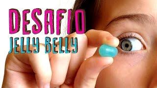 DESAFIO JELLY BELLY + Erros de Gravação - Giulia Kids