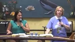 Pregação da Rebecca Brown - Tema: O chamado de Deus pra você