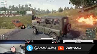 PUBG Demolition Derby Stream Highlight with StoneMountain64