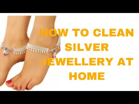 How to clean silver at home.