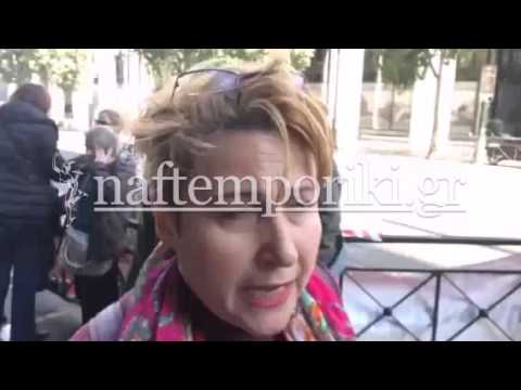 Διαμαρτυρία άνεργων εμποροϋπαλλήλων έξω από το υπουργείο Εργασίας