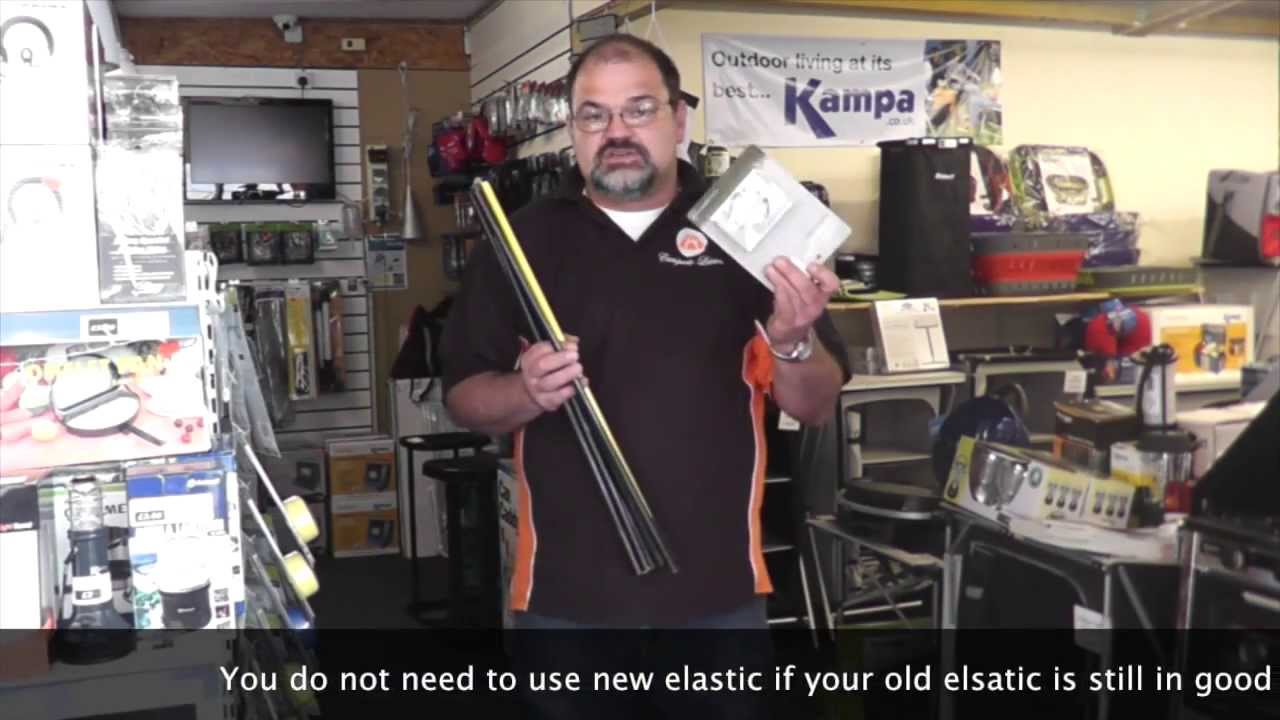 sc 1 st  YouTube & How to Repair and Replace a Fibreglass Tent Pole Section - YouTube