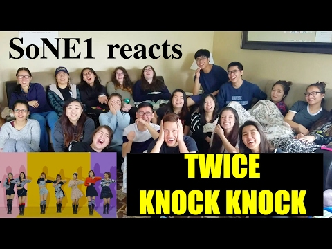 Thumbnail: TWICE (트와이스) - KNOCK KNOCK M/V Reaction by SoNE1