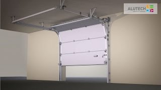 видео: Стандартный монтаж промышленных ворот серии ProPlus с калиткой