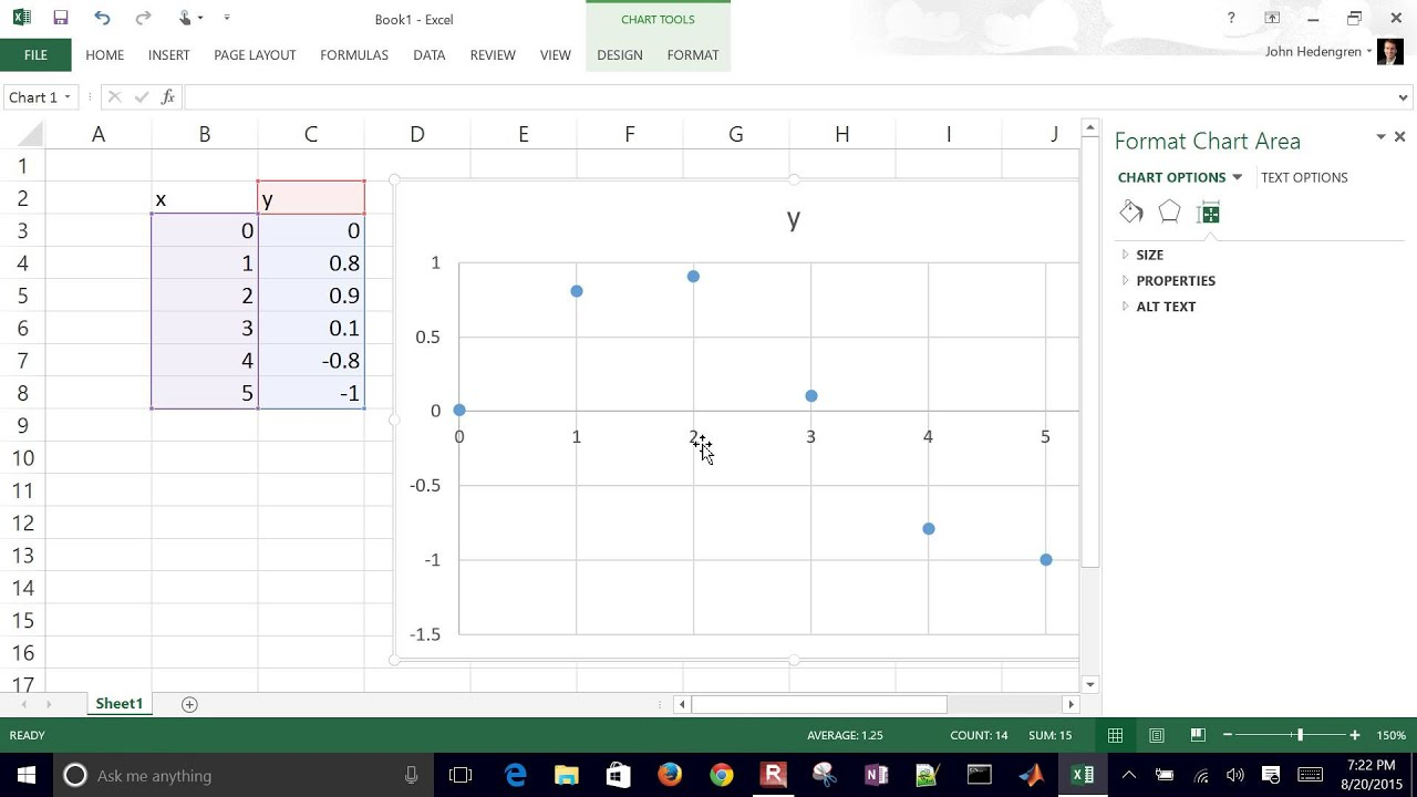 Linear and Polynomial Regression in Microsoft Excel