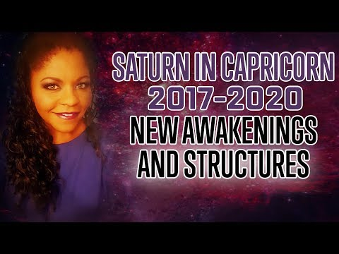 SATURN IN CAPRICORN 2017-2020 IN THE SIGNS