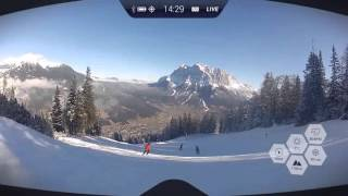 RideOn - Augmented reality goggles for winter sports