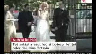 Daciana Sârbu și Victor Ponta s-au căsătorit