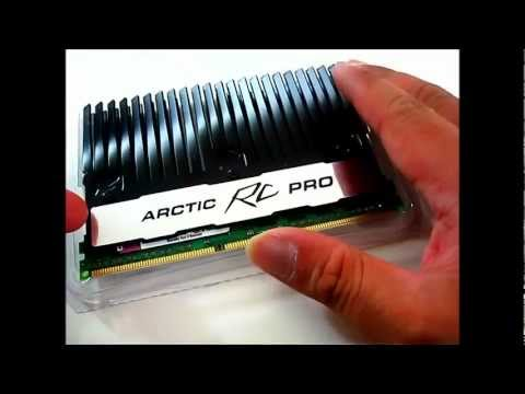 Arctic RC Pro and RC Turbo Module PWM Fan RAM Cooler - Overview and Installation